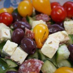 Fetta Cheese in Herb Oil recipe