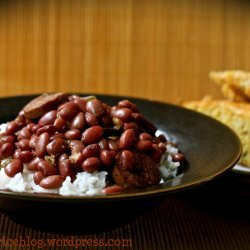 Red Beans and Rice (Vegetarian)