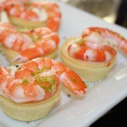 Prawn (Shrimp) and Lime Tartlets