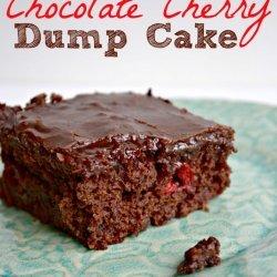Chocolate Cherry Dump It Cake