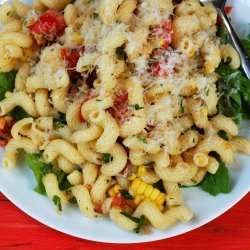 Summer Pasta With Corn, Tomatoes, and Basil