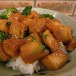 Orange You Glad I Made Crispy Tofu?