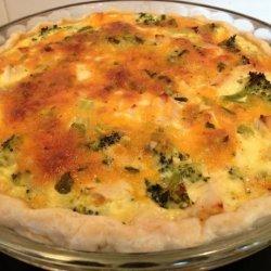 Chicken and Broccoli Quiche