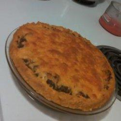 Yummy Taco Potato Pie!