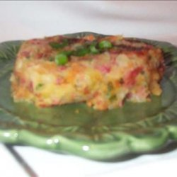 Corned Beef and Cabbage Patties