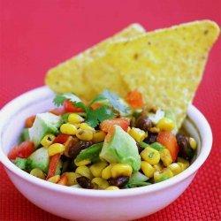 Black Bean Avocado Corn Salsa