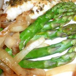 Olive Garden Asparagus With Lemon and Minced Onions