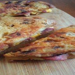 Raisin Bread Cheese Sandwiches