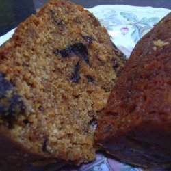 Apple, Prune and Peach Christmas Pudding