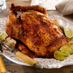 Chicken With Garlic and Lime