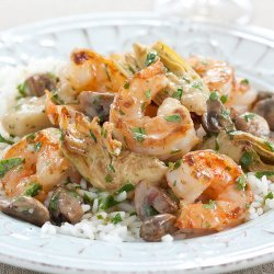 Shrimp And Mushrooms