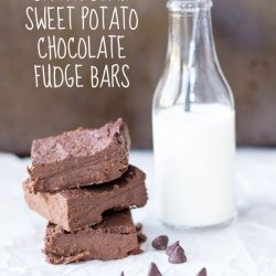Sweet Potato Chocolate Bars