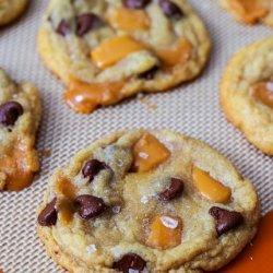 Chocolate Chunk and Caramel Cookies