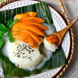 Sticky Rice With Mango Thai Dessert