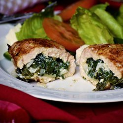 Spinach Feta Stuffed Chicken Breasts