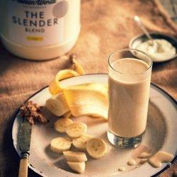 Peanut Butter & Banana Protein Shake