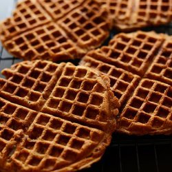 Cinnamon Apple Waffles recipe