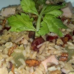 Harvest Turkey, Cranberry and Brown Rice Salad