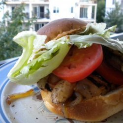 Healthy Grilled Chicken Burger Lazy Darren