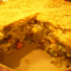 Auntie Em's Steak and Potato Pie