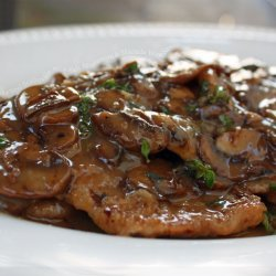 Veal Scaloppine for Two
