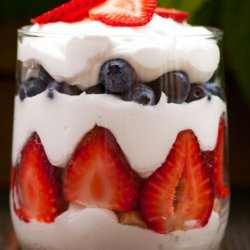 Dairy Free Berry Trifle