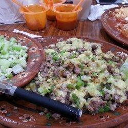 Arroz con Pollo with Salsa Verde