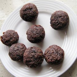 Whole Wheat Vegan Chocolate Zucchini Mini Muffins