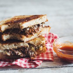Ketchup Grilled Cheese