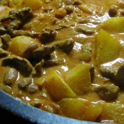 Porky Potatoy Beard-Yogurt Stew recipe