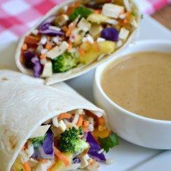 Crunchy Vegetable Wrap