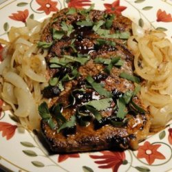 Cuban Steak (Bistec Encebollado)
