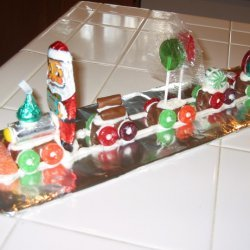 Candy Christmas Train recipe