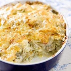 Artichoke Potato Gratin recipe