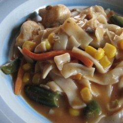 Chicken Noodle Goulash (Abs Diet)
