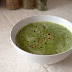 Spicy Spinach and Coconut Soup