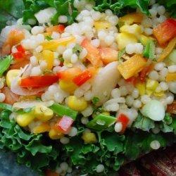 Israeli Couscous and Corn Salad