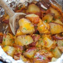 Cheesy Potatoes (Slow Cooker)