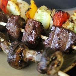 Mom's Beef Shish Kabobs