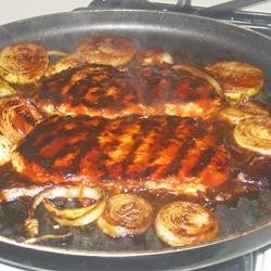 Easy Barbeque Chicken and Red Potatoes