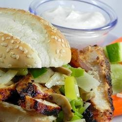 Chicken Sandwiches with Zang
