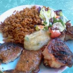 Mesquite Grilled Pork Chops with Apple Salsa recipe