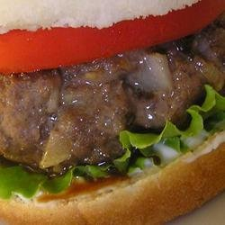 The Stowe Show Sweet Burger recipe