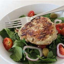 Chicken and Feta Burgers recipe