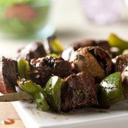 Savory Grilled Beef Kabobs recipe