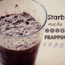 Starbucks Mocha Cookie Crumble Frappuccino Copycat recipe