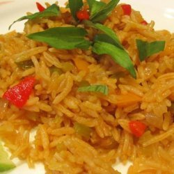 Yellow Rice - Arroz Amarillo Con Achiote recipe