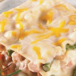 Ham & Asparagus Lasagna
