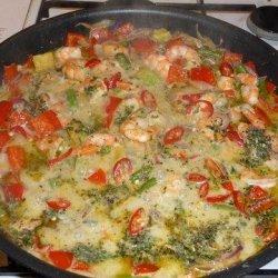 Fiery Avocado Green Curry and Shrimp Carb Redo