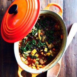 Curried Vegetable and Bean Soup